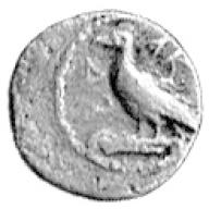 Obverse: Eagle standing left
