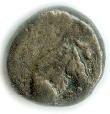 Obverse: Horse right